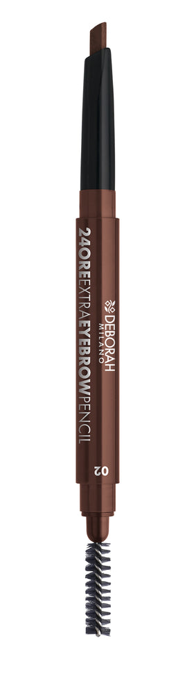 Deborah Milano 24Ore Extra Eyebrow Pencil 02- Medium