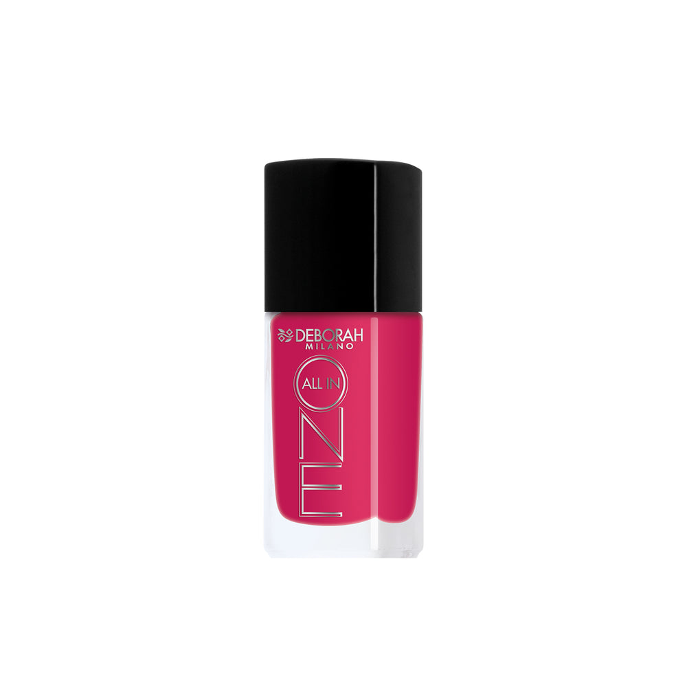 Deborah Milano All In One Nail Enamel - 5 Magenta Pink
