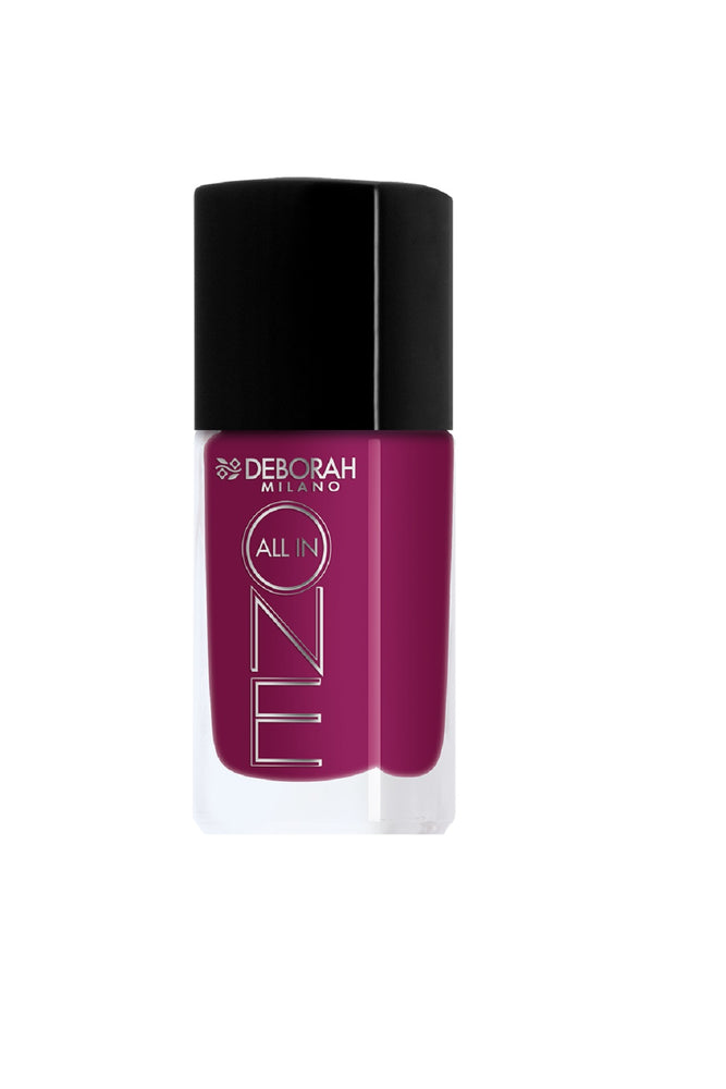 Deborah Milano All In One Nail Enamel - 6 Deep Cyclamen