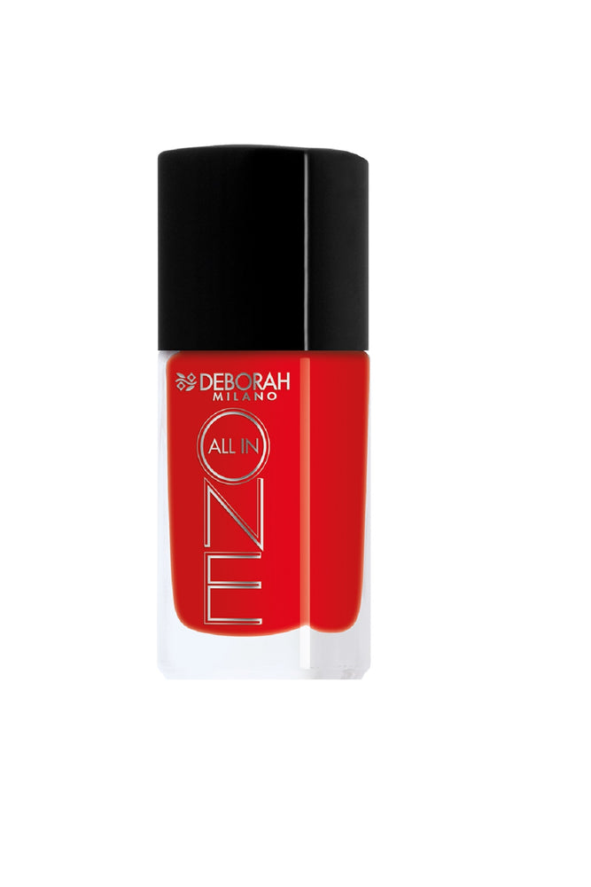 Deborah Milano All In One Nail Enamel - 10 Classic Red