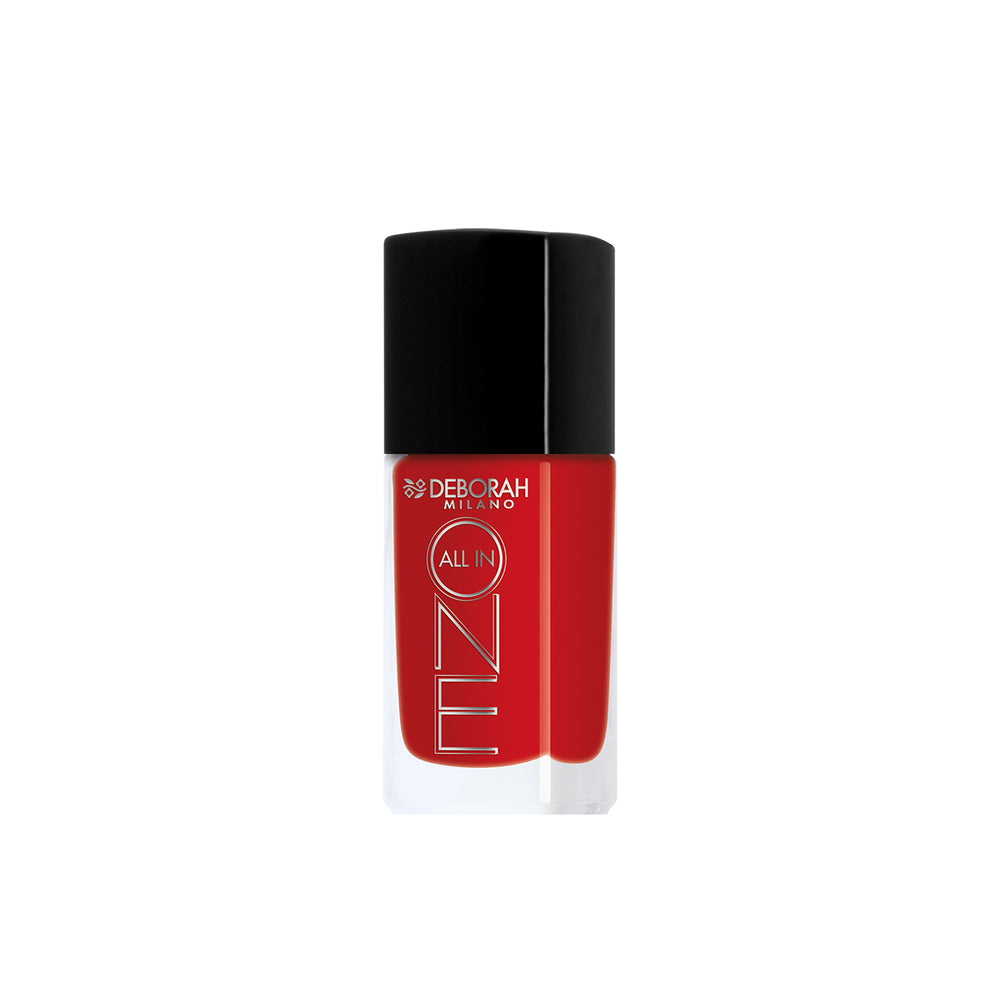 Deborah Milano All In One Nail Enamel - 11 Deep Red