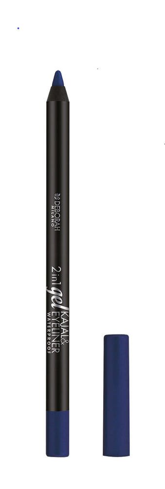 Deborah Milano 2-In-1 Gel Kajal & Eyeliner - 9 Deep Blue