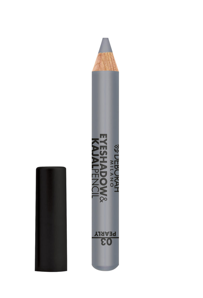 Deborah Milano Eyeshadow&Kajal Pencil - 03 Pearly Silver