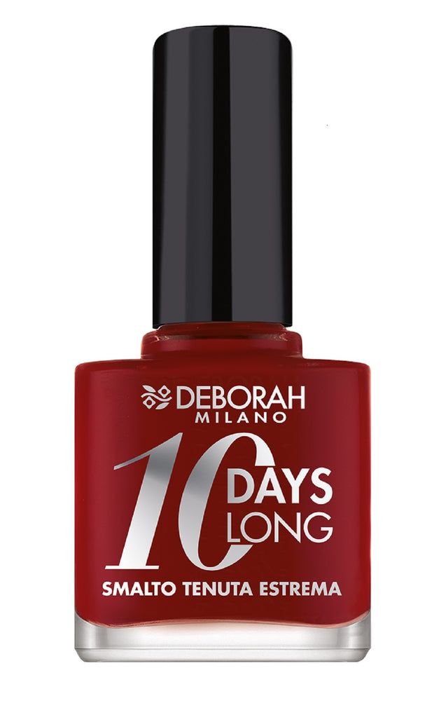 Deborah Milano 10 Days Long - 161 Dark Red Nail Polish