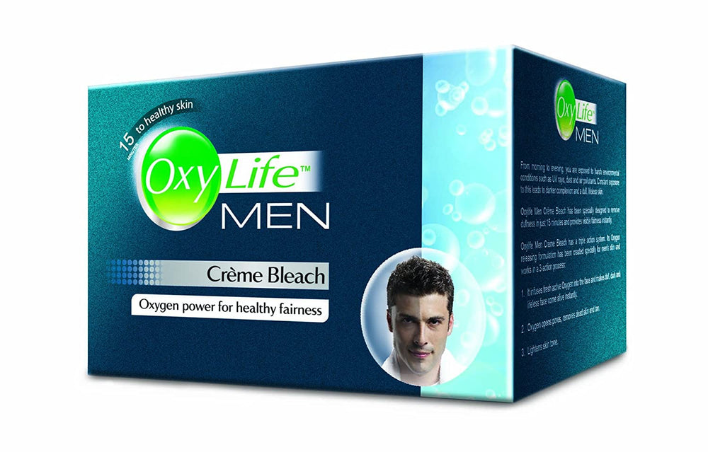 OxyLife Men Creme Bleach