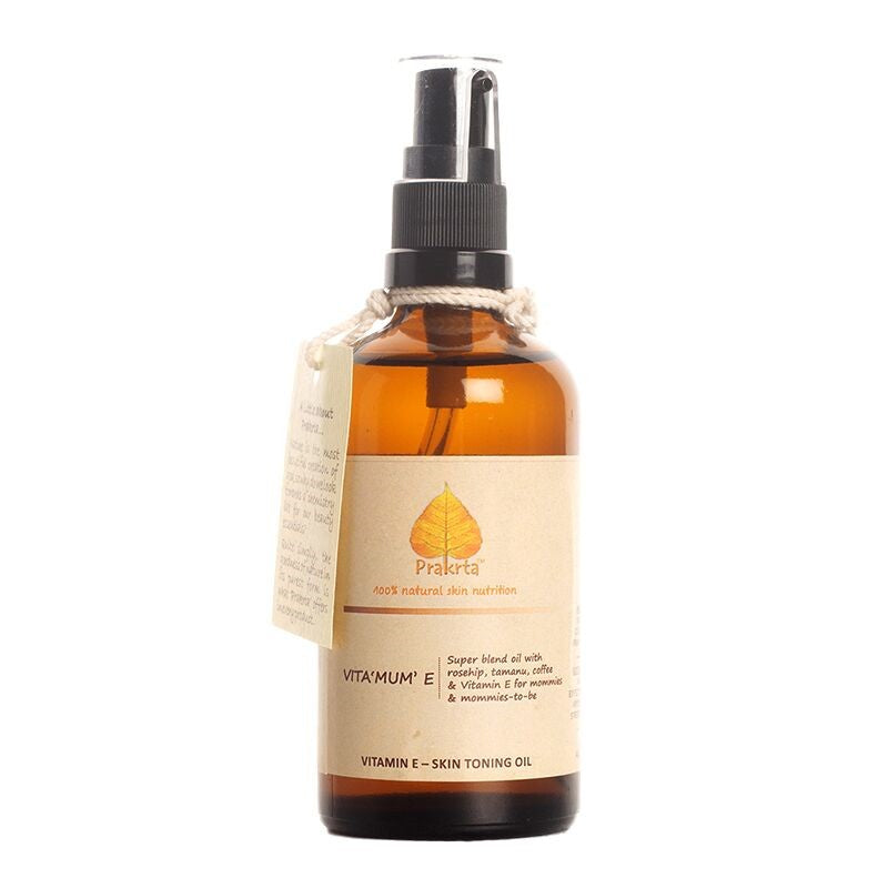 Vita 'MUM' E - Toning Oil (Prevent & Soothe stretchmarks)