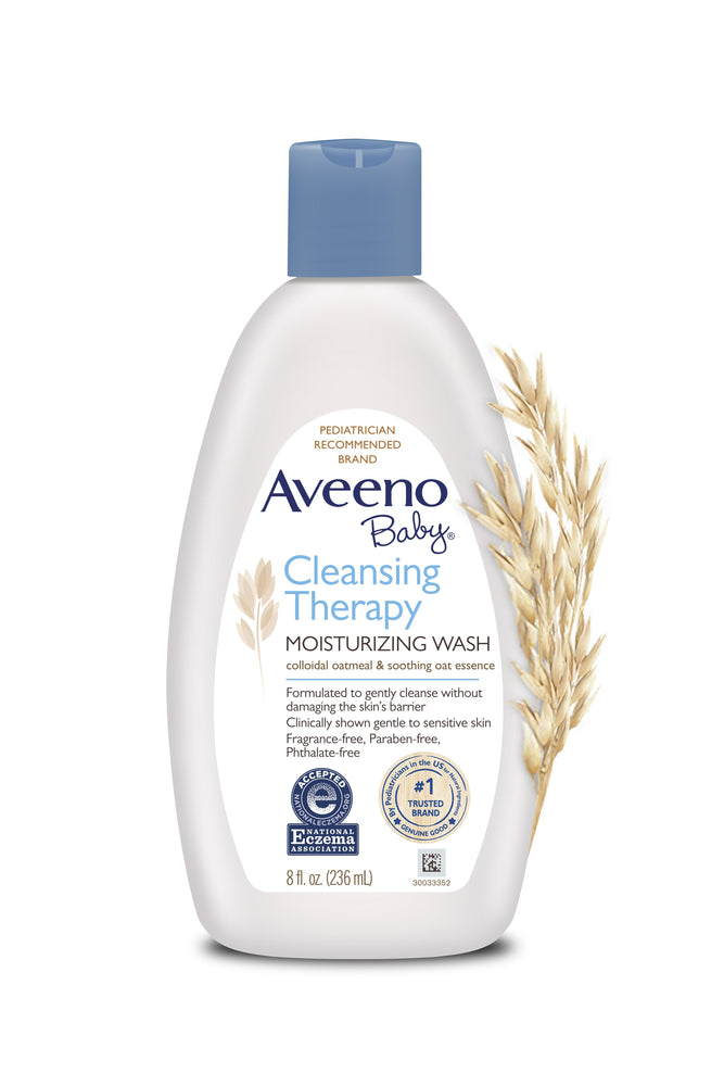 Aveeno Baby Cleansing Therapy Moisturizing Wash - 236ml