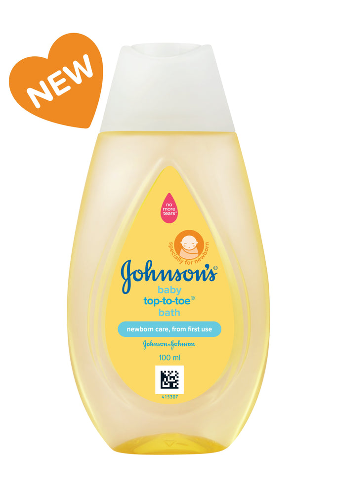 Johnson's Baby Top To Toe Baby Bath 100 ml