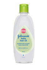 Johnson's Baby Hair Oil 200ml (Pack of 2)