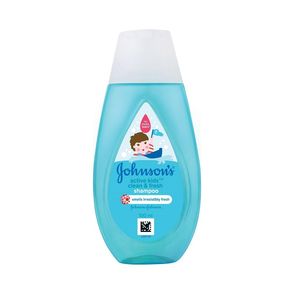 Johnson's Active Kids Clean & Fresh Shampoo 100ml