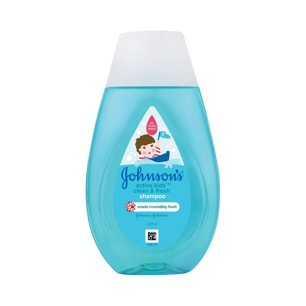 Johnson's Active Kids Clean & Fresh Shampoo 200ml