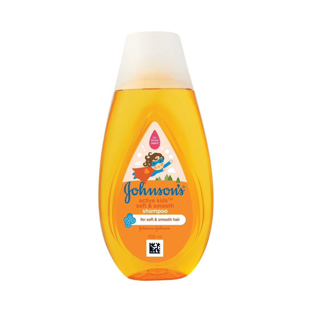 Johnson's Active Kids Soft & Smooth Shampoo 100ml