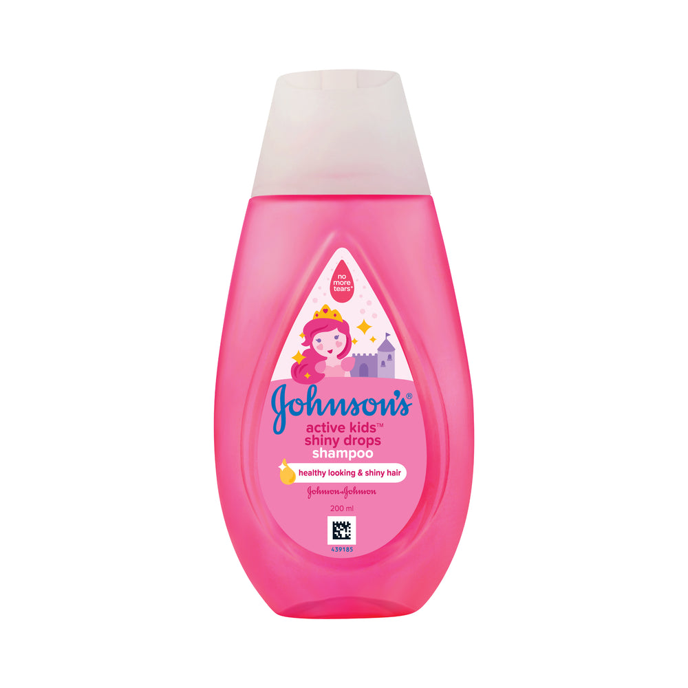 Johnson's  Active Kids Shiny Drops  Shampoo 200ml