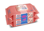 Johnson's Baby  Skincare Wipes 80s FTL Twin Pack