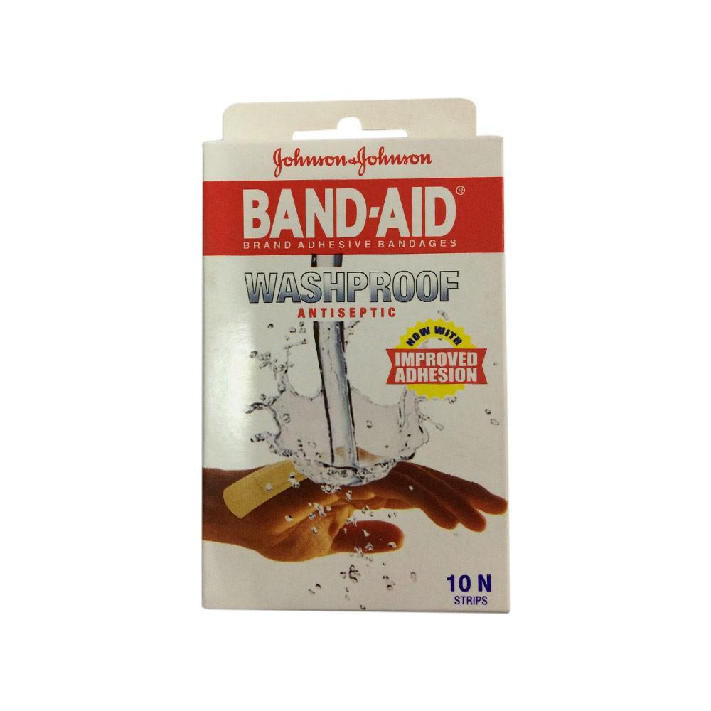 Band-Aid Washproof Patches Pack of 10s