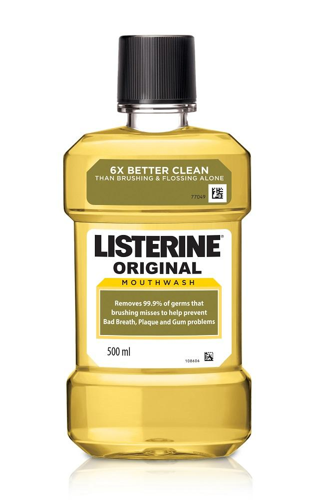 Listerine Mouthwash Original 500ml