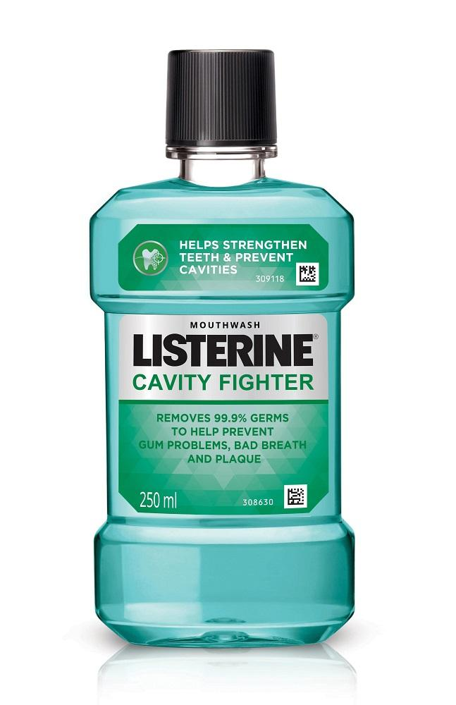 Listerine Mouthwash Cavity Fighter 250 ml