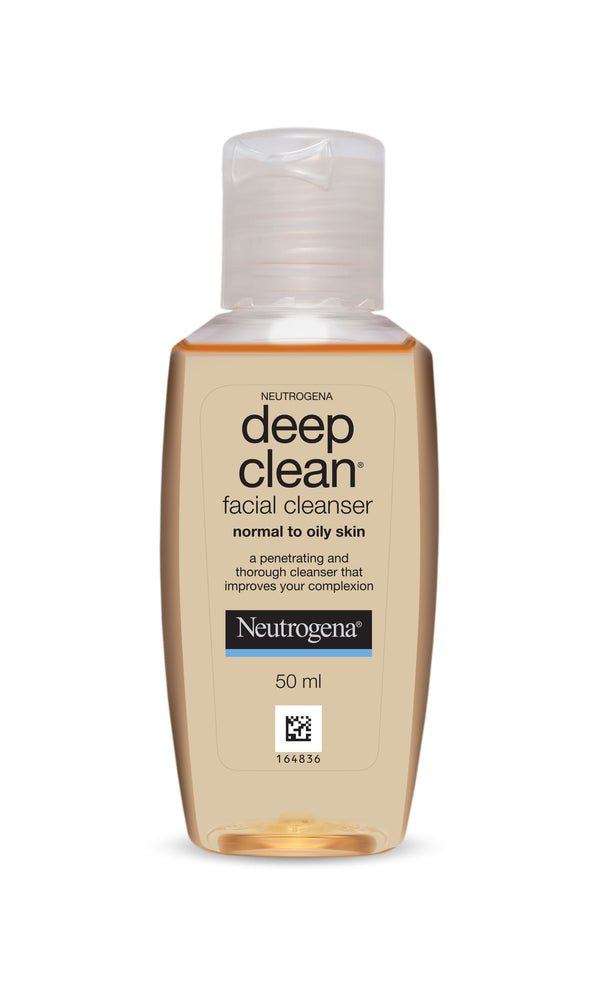 Neutrogena Deep Clean Facial Cleanser 50 ml (Pack of 2)