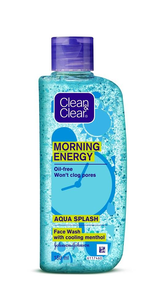 Clean & Clear Morning Energy Aqua Splash 150ml