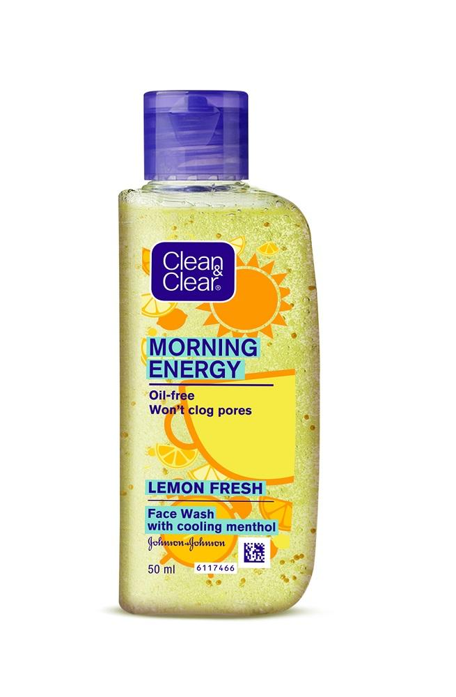 Clean & Clear Morning Energy Lemon Fresh 50ml
