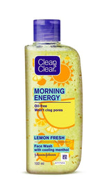 Clean & Clear Morning Energy Lemon Fresh 100ml (Pack of 2)
