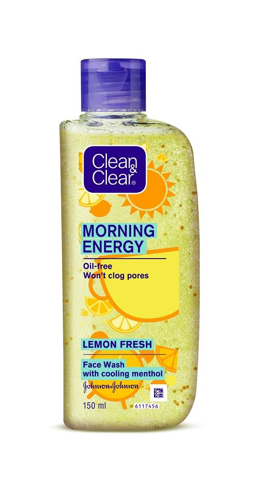 Clean & Clear Morning Energy Lemon Fresh 150ml