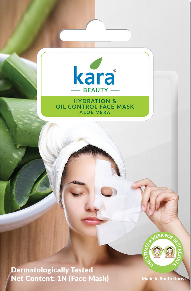 Kara Hydration & Oil Control Aloe Vera Sheet Face Mask