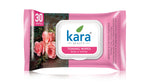 Kara Toning Wipes with Rose and Thyme 30 Wipes (with Lid)