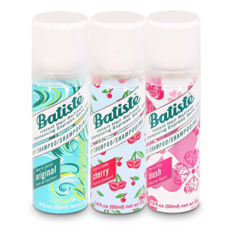 Batiste Clean & Classic Original, Fruity & Cheeky Cherry, Floral & Flirty Blush - 150 Ml
