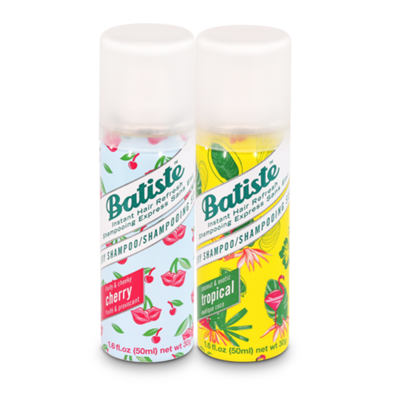 Batiste Fruity & Cheeky Cherry, Coconut & Exotic Tropical - 100 ML