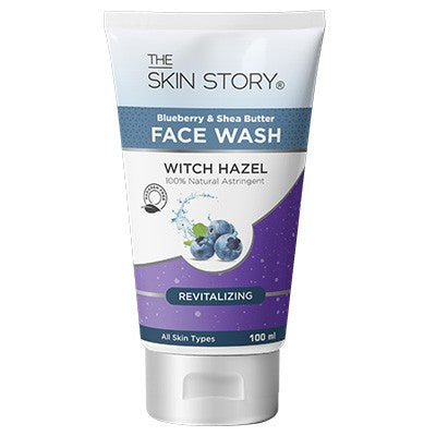 Shea Butter & Blueberry Face wash ; Revitaliser , 100 ml-The Skin Story (Pack of 2)