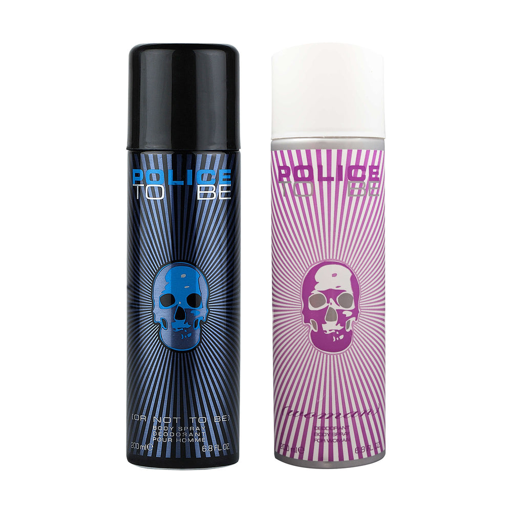 Police To Be Men + To Be Women Deodorant Spray - For Men + Women 400ml, 10% Off