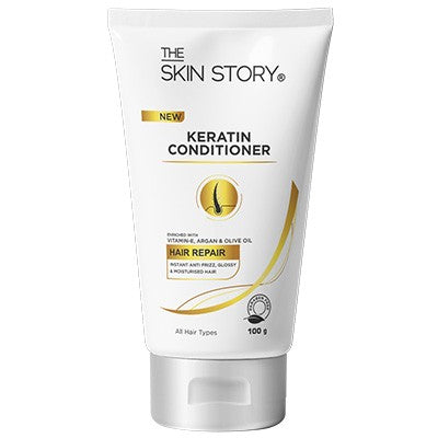 Keratin Conditioner , Instant Anti -Frizz , 100 g-The Skin Story