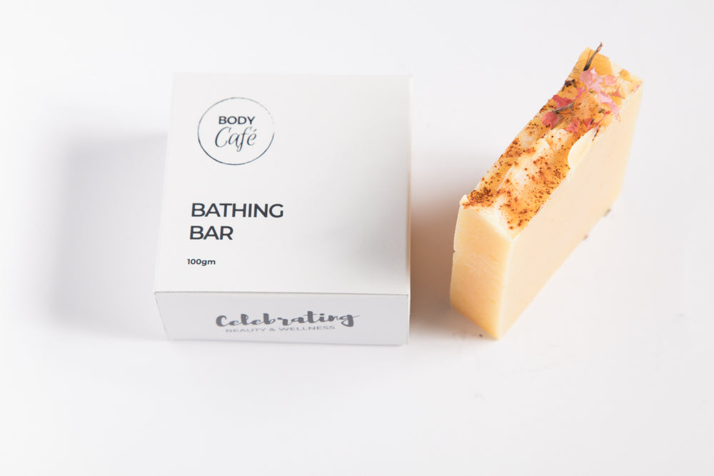 Golden Glow (Turmeric, Shea Butter) BATHING BAR