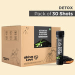 Activated Charcoal Gut Cleanse Shots - 30 shots | 30 days