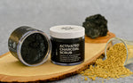 BodyCafé Bamboo Charcoal Face & Body Scrub