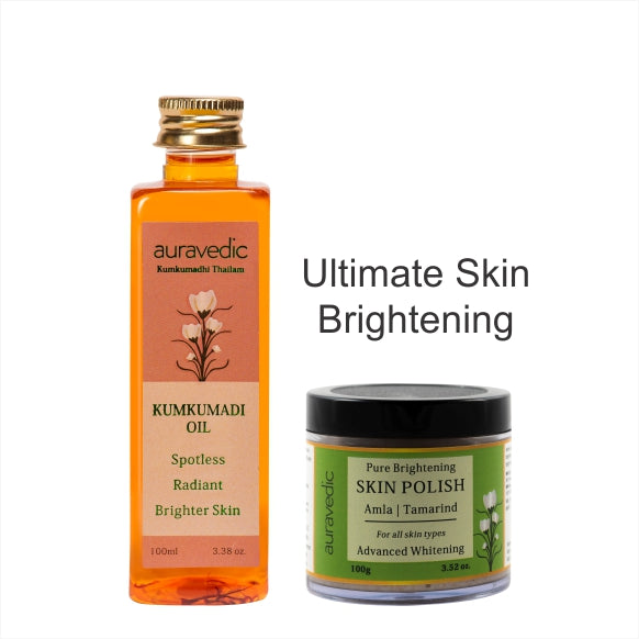 Auravedic 2 Steps For Ultimate Skin Brightening