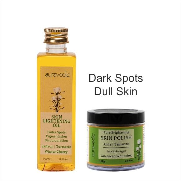 Auravedic 2 Steps For Dark Spots & Dull Skin
