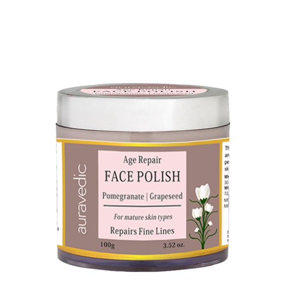 Age Repair Face Polish Pomegranate & Grapeseed