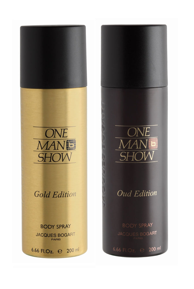 Jacques Bogart One Man Show Gold + One Man Show Oud Deo Combo Set - Pack of 2
