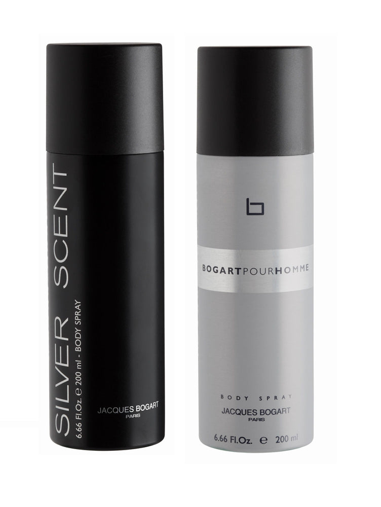 Jacques Bogart Silver Scent + Pour Homme Deo Combo Set - Pack of 2, 12% Off