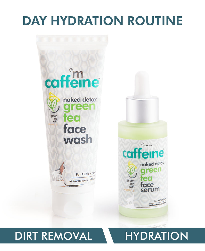 mCaffeine Green Tea Day Hydration Routine