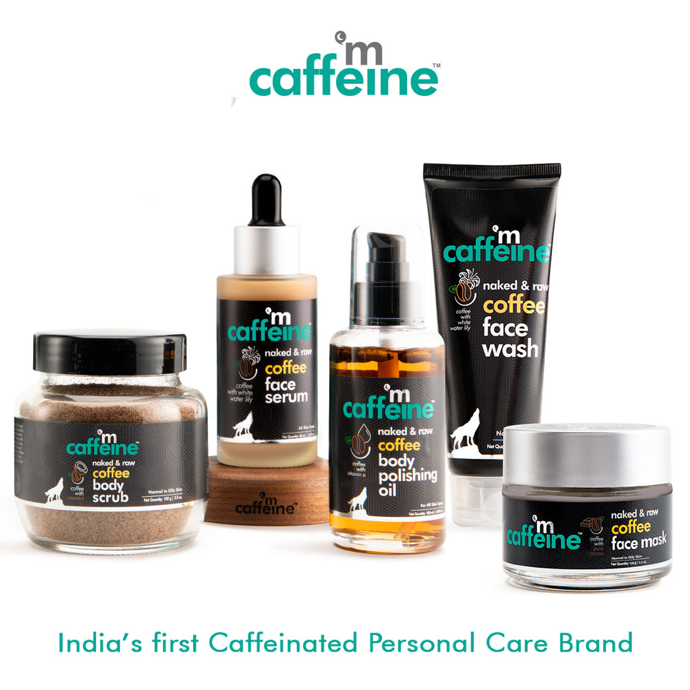 mCaffeine De Tan Face Polishing Kit