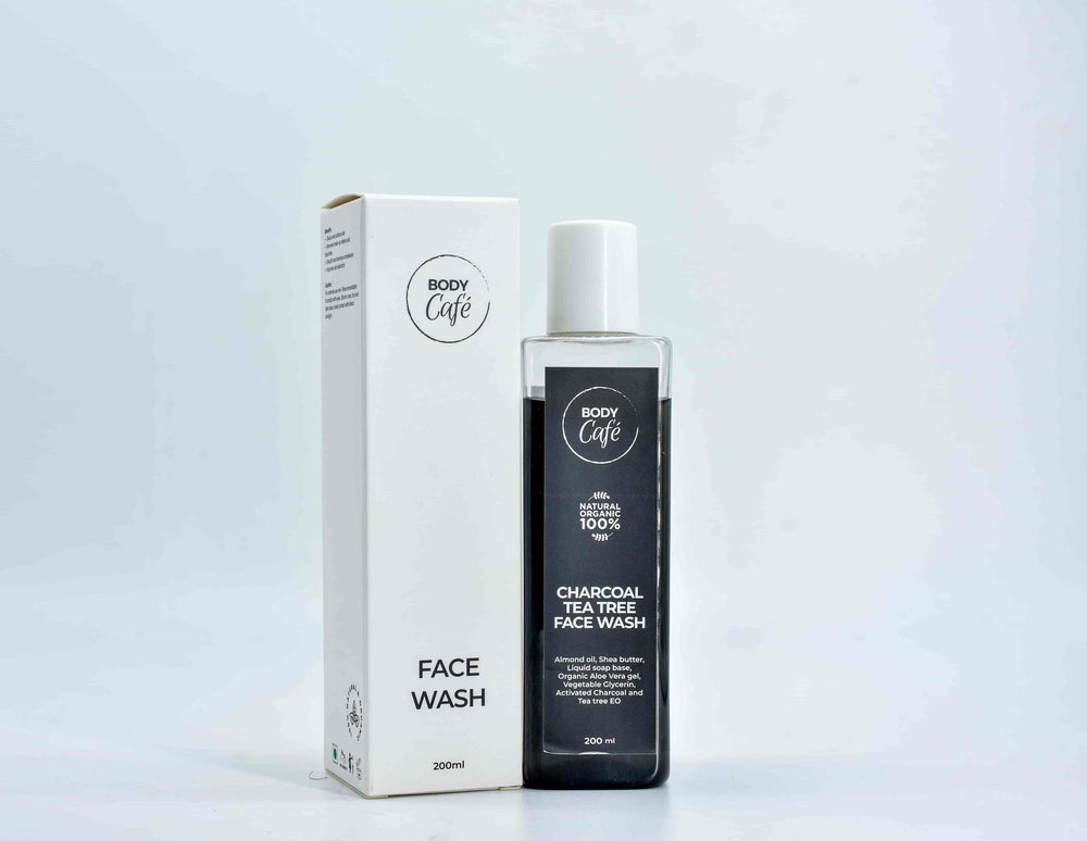 Charcoal Tea Tree Face Wash