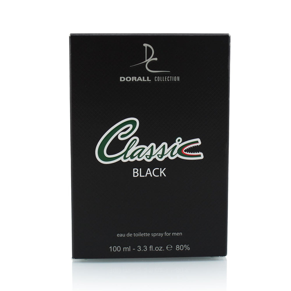 Dorall Collection Classic Black Eau de Toilette For Men 100ml