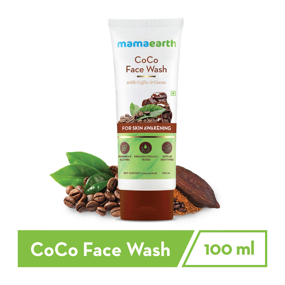 CoCo Facewash, with Coffee & Cocoa for Skin Awakening – 100ml