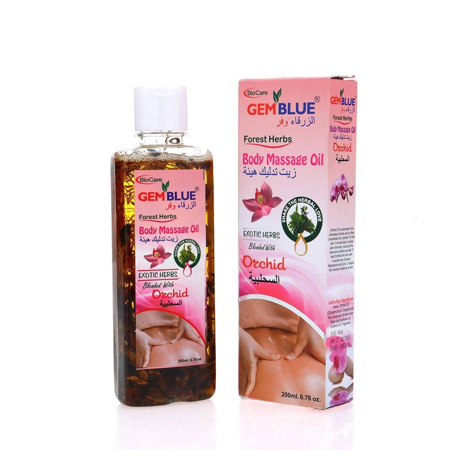 Orchid Body Massage Oil-GemBlue-BioCare