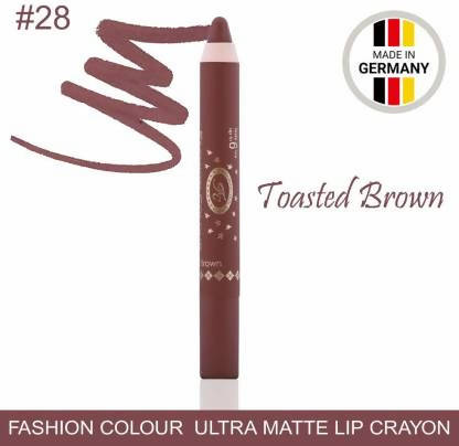 Ultra Matte Lip Crayon Toasted Brown Lipstick