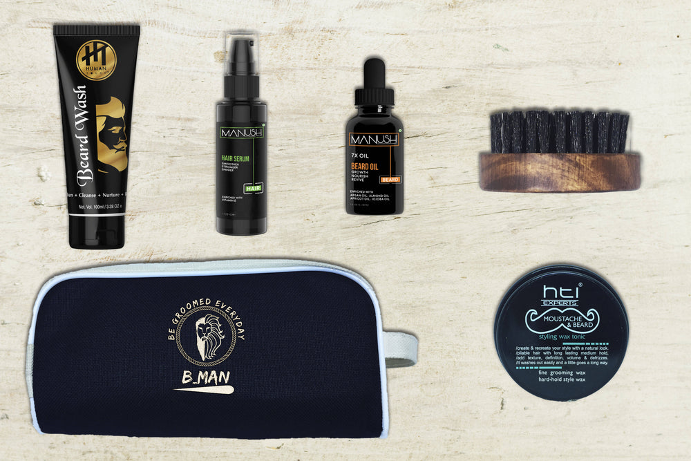 BMAN Beard Grooming Box