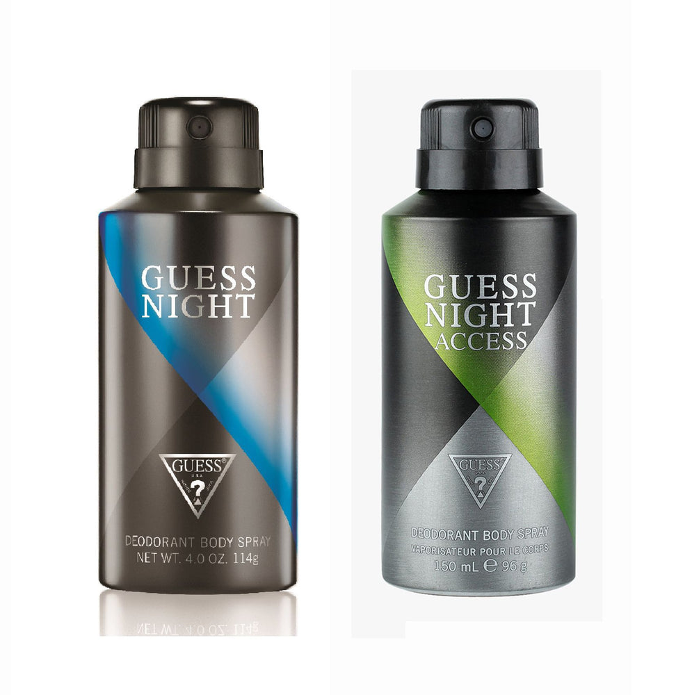 Guess Night + Nightaccess Deo Combo Set - Pack of 2